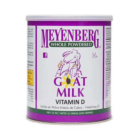Meyenberg Non Goat Milk 340gr meyenberg goat dairy powdered goat milk thrive market
