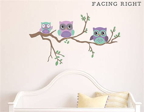 owl wall stickers owl decals for walls o wall decal
