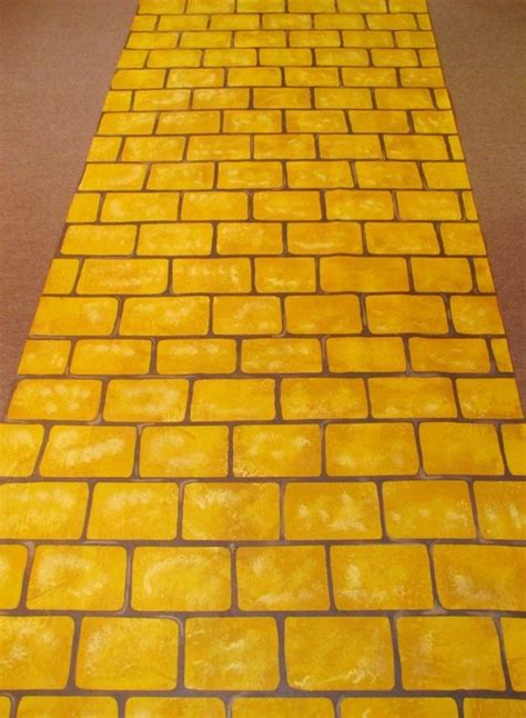 Yellow Brick Road Rug by Pin By Marcine Ricketts For M O R Events On Wedding Ideas