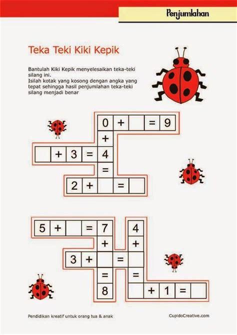 belajar matematika anak kelas 1 sd penjumlahan angka 1 s d 15 belajar anak