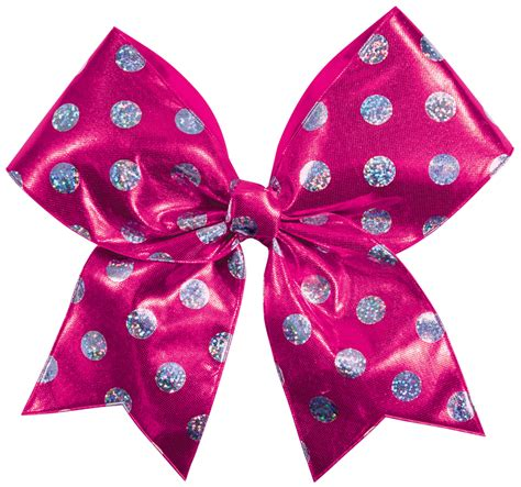 hair bows chass 233 174 polka dot performance hair bow omni cheer