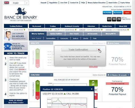 banc de binary demo account banc de binary broker review binary options trading demo