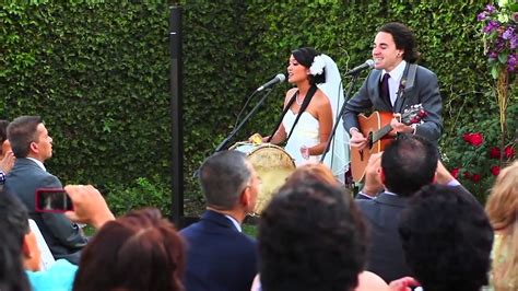 Wedding Song Viral by And Groom Perform Their Wedding Vows As Song Viral