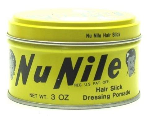 Nu Nile Yellow Nu Nile Murrays Pomade Hair Slick Dressing 85 Gram 1 murrays nu nile hair slick dressing pomade 3 oz jar of 6 murray s beautil
