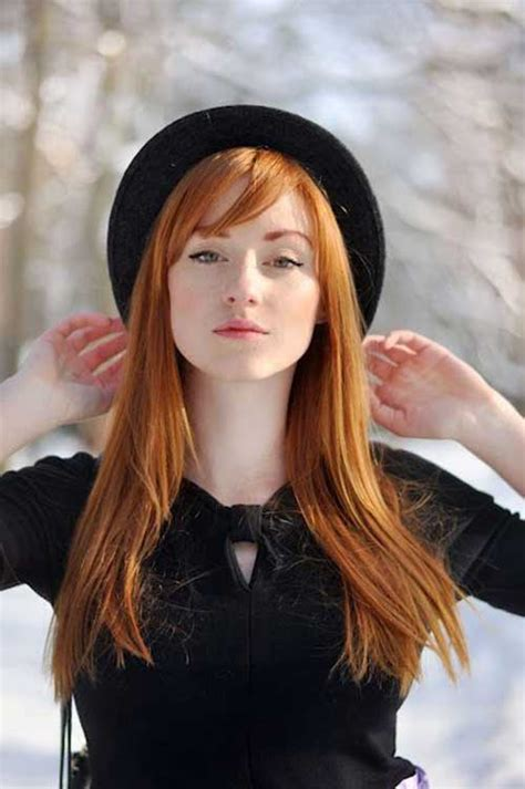 beautiful carrot hairstyles 15 red hair color pictures long hairstyles 2016 2017