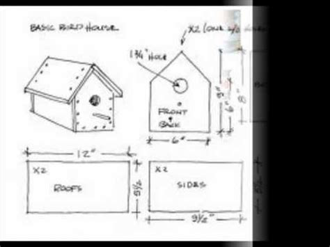 how to make house plans simple bird house plans