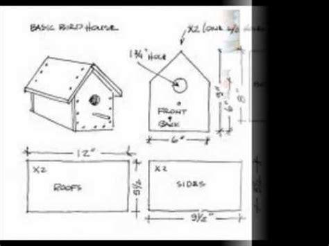 Easy Bluebird House Plans Simple Bird House Plans
