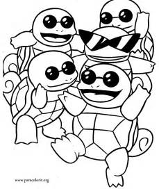 squirtle coloring page pok 233 mon squirtle squad coloring page