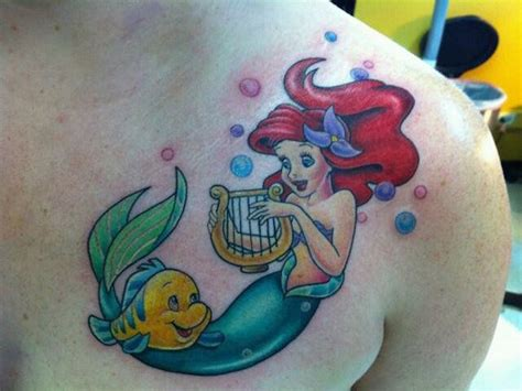 flounder tattoo 59 breathtaking mermaid inspired tattoos tattooblend