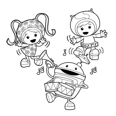 Free Printable Team Umizoomi Coloring Pages For Kids Coloring Pictures For To Print