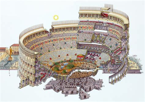 Cros Section by Classic Cross Section Illustrations By Stephen Biesty