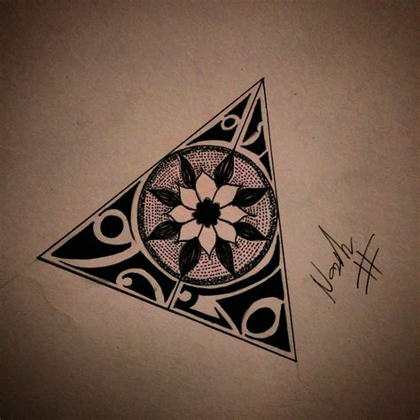 tattoo mandala triangle 23 awesome triangle mandala drawing images inspiration
