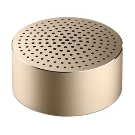 Speaker Xiaomi Mi Bluetooth Gold xiaomi mi portable bluetooth speaker gold