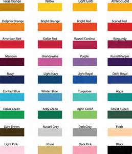 ink colors screen printing ink colors