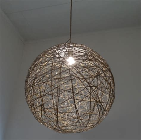 string light shade home dzine home decor large twine lshade