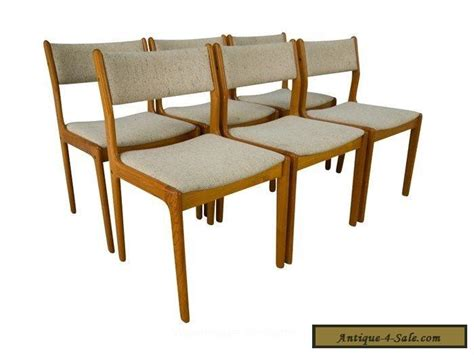 findahl teak dining chairs mid century modern for