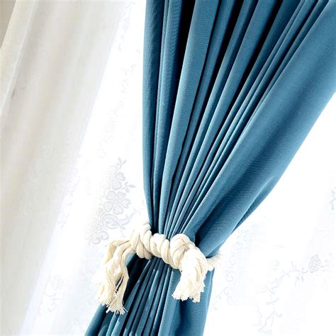 good quality curtains good quality blue window curtains with white lace