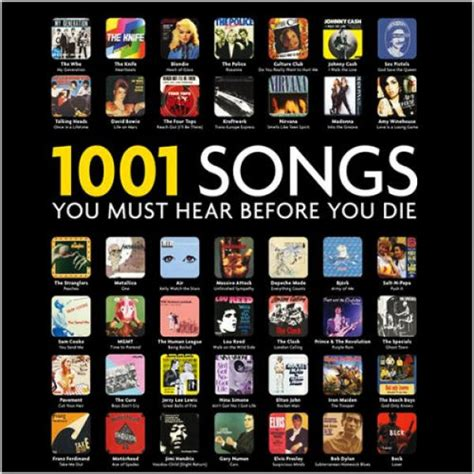 7 Playlists You Must by 1001 Songs You Must Hear Before You Die Spotify Playlist