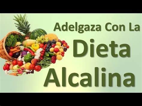 perder peso dieta alcalina la dieta alcalina como seguirla para perder peso funciona