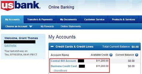 us bank login success us bank club carlson business credit card