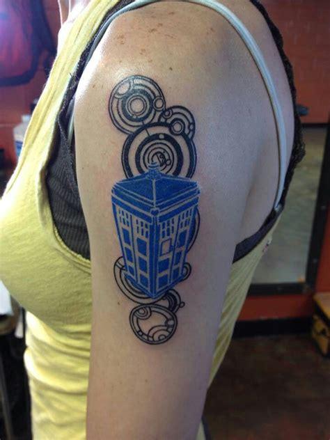 tardis tattoo tardis idea doctor who tattoos