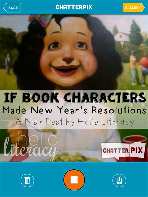 new years resolution app if book characters made new year s resolutions book