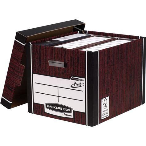 Box File Jumbo Yushinca 105cm bankers box cardboard storage box grain leather octer 163 12 35