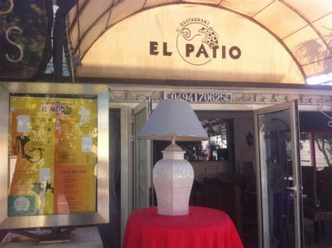 Restaurant El Patio Frejus by El Patio Fr 233 Jus Publications Fr 233 Jus Menu Prix Avis
