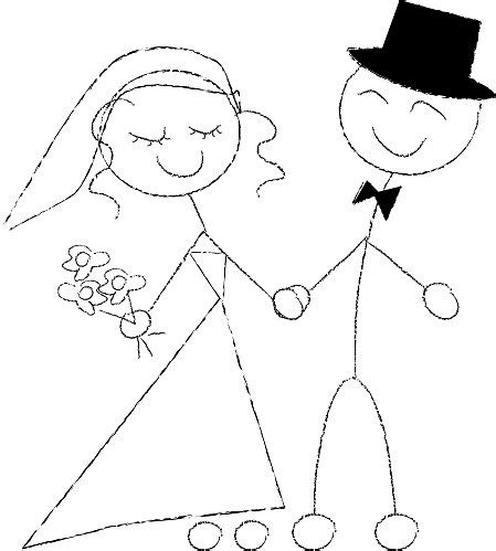 Wedding Stick Figures by Weight Loss A Wedding And Eventually A Wee One