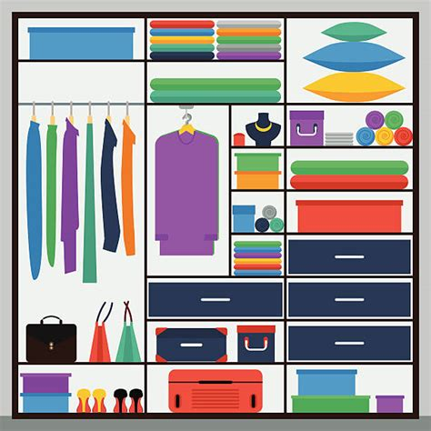 Clip Closet by Closet Clip Vector Images Illustrations Istock