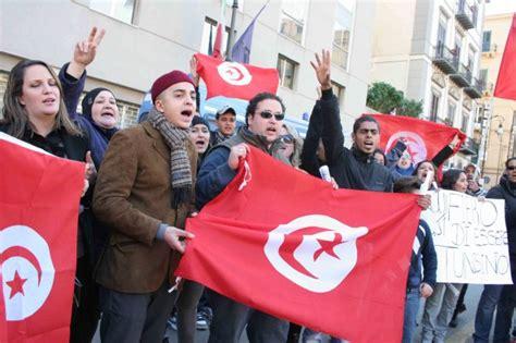 consolato tunisino palermo foto i tunisini di palermo scendono in piazza 1 di 8