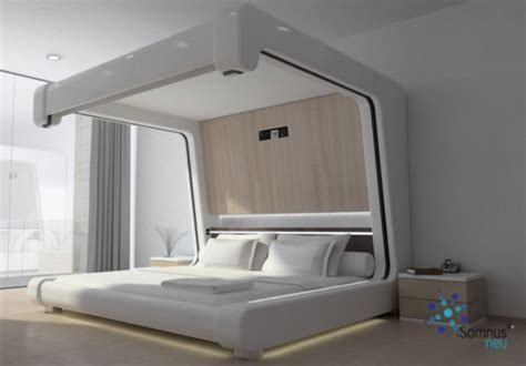 Modern Beds of the Future room service 360°