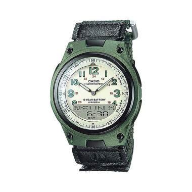Jam Tangan Casio Original Aw 80v 1bv Pria Dan Wanita jual casio aw 80v 3bvdf jam tangan unisex black green