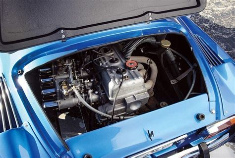 renault alpine a310 engine renault alpine a110 berlinette totally car
