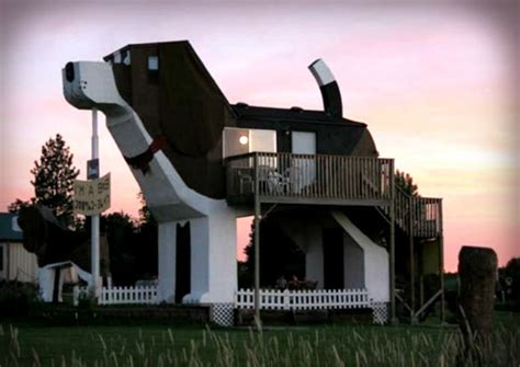 dog shaped house the most unusual and unique places to stay on airbnb that will blow your mind the