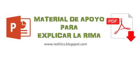 ejemplos de rimas alternas para qyinto de basica material de apoyo para explicar la rima recursos did 225 cticos