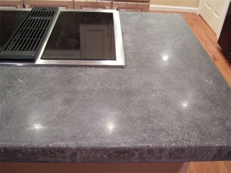 concrete countertops for the kitchen a solid surface on