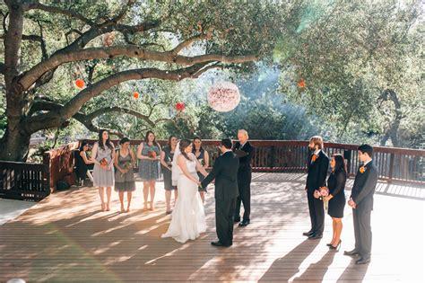 topanga canyon wedding    liz justin california outdoor elopement photographer