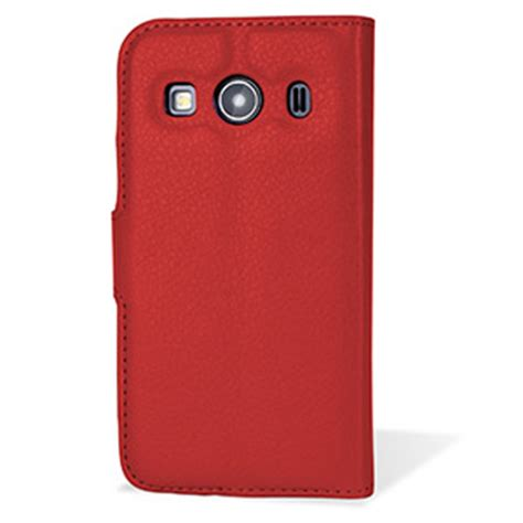 Back Casing Samsung Ace 4 encase samsung galaxy ace 4 leather style wallet