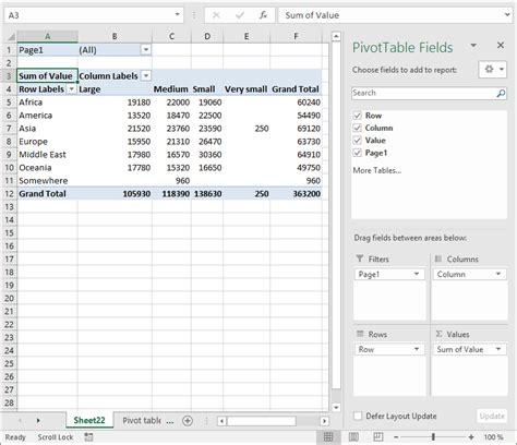 how to pivot table discover pivot tables excel s most powerful feature and