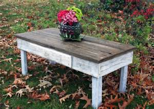 Distressed White Wood Coffee Table Endless Designs In Distressed Coffee Table