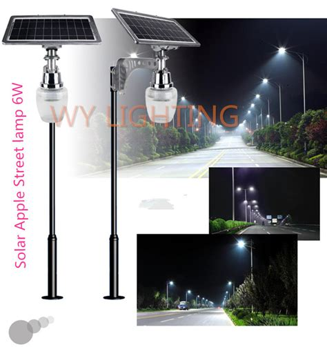 Outdoor Lighting Solar Power 6w Solar Powered Led Light With 10w Solar Panel