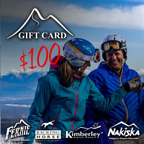 Telus Gift Card - rcr gift cards 100 resorts of the canadian rockies