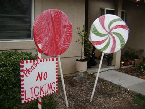 outdoor 8 diameter christmas lollipops 94 best size gingerbread house images on diy decorations
