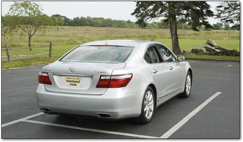 airbag deployment 2009 lexus ls parking system lexus ls400 ls430 and ls460 history and description