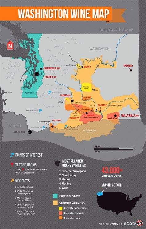 seattle to yakima map 87 best images about wine country on