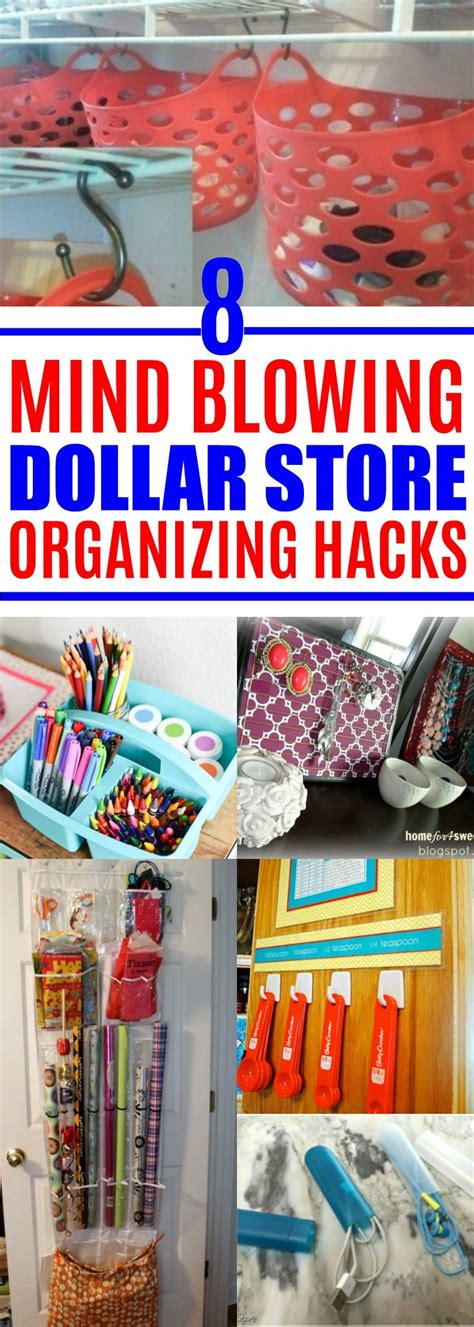 dollar store organization hacks de 292 b 228 sta organisera och andra tips bilderna p 229