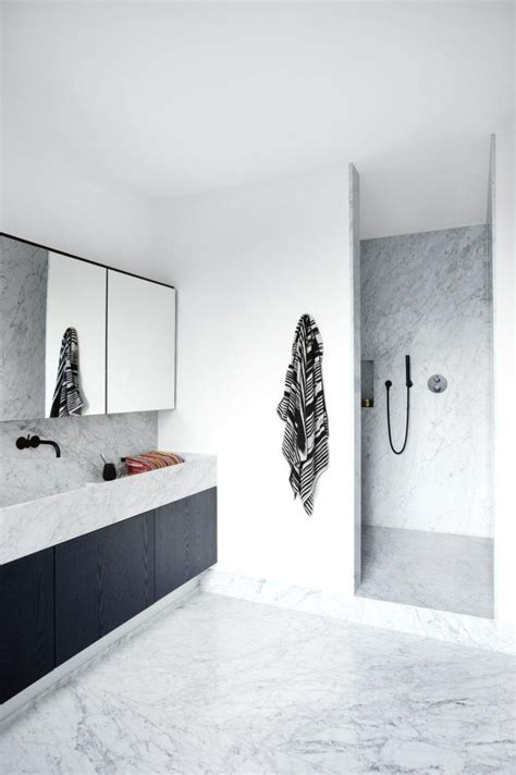 Black And White Bathroom Images by Best 25 Black Marble Bathroom Ideas On Modern
