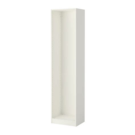 pax wardrobe frame white
