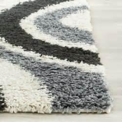 grey contemporary rugs safavieh shag ivory grey contemporary area rug reviews